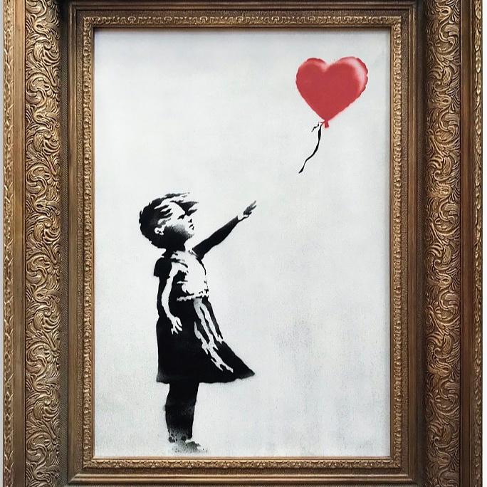 Banksy videón mutatta meg a festménymegsemmisítés kulisszatitkait!
